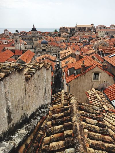 Roof Tops Orange Old City Dubrovnik, Croatia Live For The Story Live For The Story
