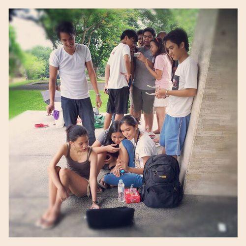 BTS for UPLB Pakusganay 2012 Photoshoot UPLB Pakusganay Uplbkaiban up iskolarngbayan themanansala