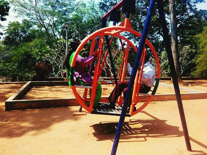 Playground Outdoor Play Equipment Tree Backtochildhood Outdoors Day Sand Park - Man Made Space Enjoying Life Enjoying The Sights Enjoying The Moment Watchingparents Parents ♥ Mum And Dad Nevertoooldforthis NeverToOld Stillyoung Keraladiaries MuseumPark