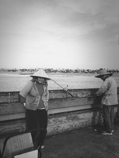 Blackwhite Blackandwhite Fishing