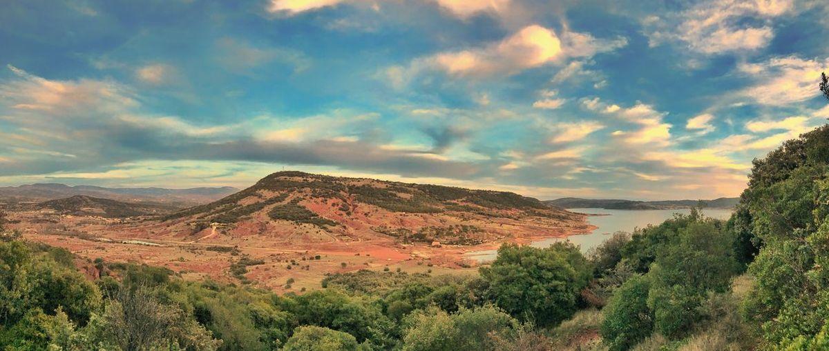 Lac Du Salagou Landscape