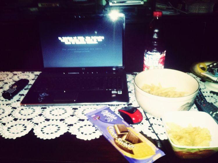 Movie Night With My Bestfriend