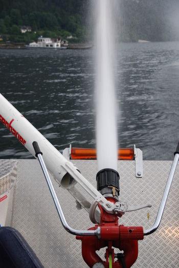 A-Boot Feuerwehr Firerescue Hochdruck Mode Of Transport Motion Nautical Vessel No People Outdoors Speed Spraying Transportation Wasserwerfer Water Water Cannon Water Cannon Boat Waterrescue