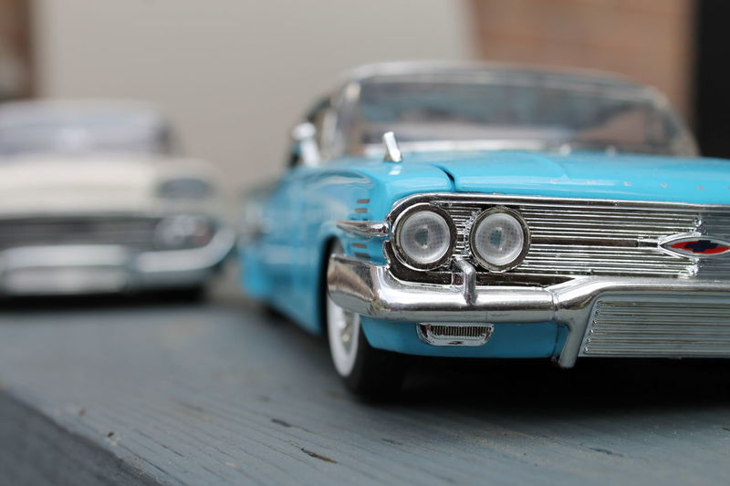 Blue Car Close-up Collector's Car Day Diecast Headlight Indoors  Land Vehicle Mode Of Transport Modelcar No People Old-fashioned Retro Styled Transportation Vintage Car