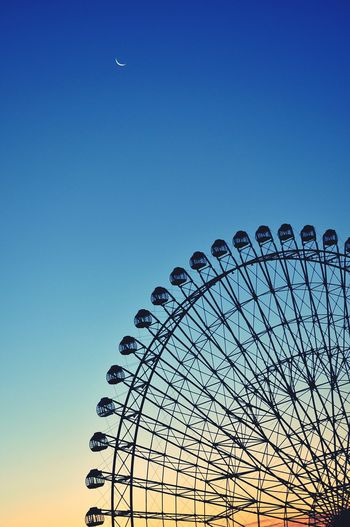 Color Photography Ferris Wheel Moon Skyfall Landscape Beautiful Nature Morning Sky Skyporn Skylovers Sky Collection
