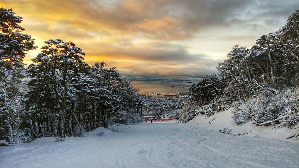 Ski Slope Winter Ushuaia Argentina