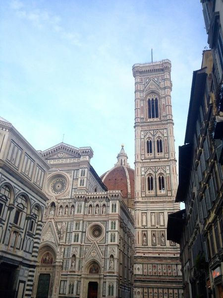 Architecture Building Exterior Built Structure Day Duomo Duomo Di Firenze Duomo Santa Maria Del Fiore Firenze Firenzemadeintuscany Florence Florence Italy History Low Angle View No People Outdoors Place Of Worship Religion Sky Spirituality Travel Destinations EyeEmNewHere
