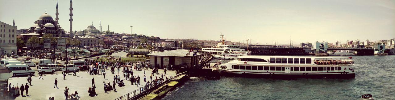 Vapur Iskelesi Vapur Ve İstanbul Eminönü First Eyeem Photo Vapur Yeni Camii Haliç Istanbul Turkey