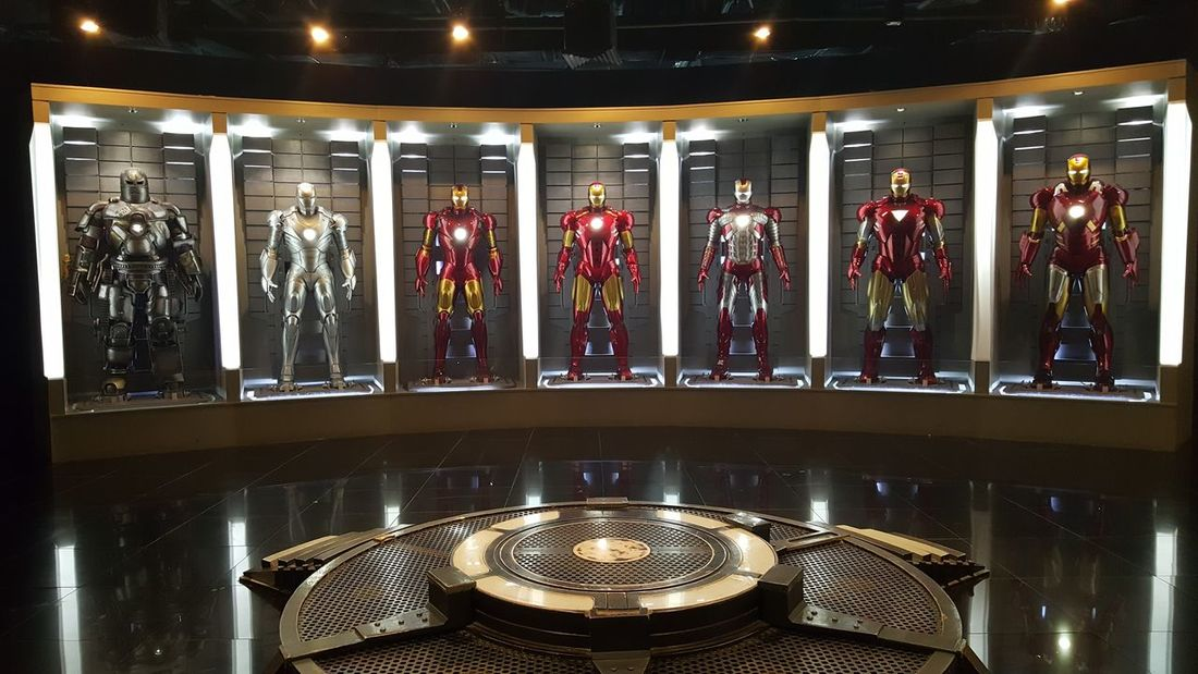 Iron Man Life Size Collection. Arts Culture And Entertainment OceanPark Manila Philippines Yexelstoymuseum Nofilternoedit PhonePhotography Note5photography
