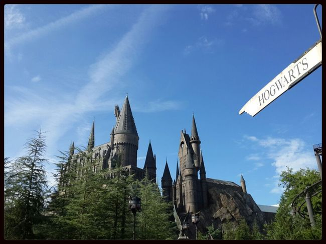 Magic begins here. Harry Potter Travel Architecture Nature