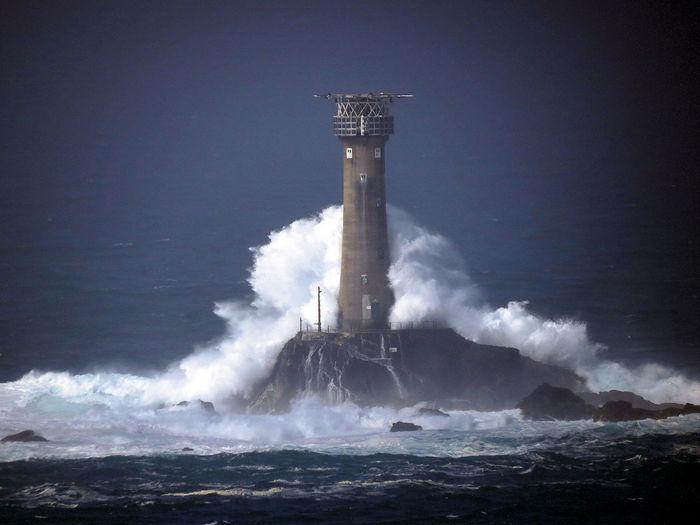 Rough Sea Storm