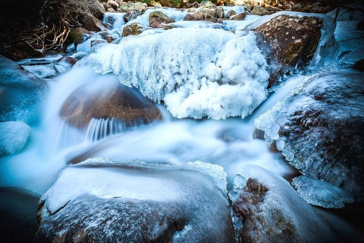 It's Cold Outside Mountains River Outdoors Rural Photography Longexposure Landscapes With WhiteWall Blur Blurred Motion Water Deepfreeze Frozen Pristine Wild Nature Nature_collection EyeEm Nature Lover Explore Traveling Trekking Check This Out Enjoying Life DSLR Bulgaria