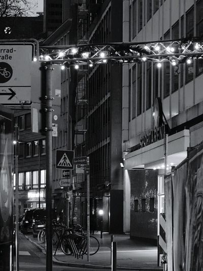 OpenEdit For The Love Of Black And White Bw Streetphotography Nightphotography Night Lights Walking Around The City  I Love It Frankfurt Am Main Mainhatten Love My City Up Close Street Photography