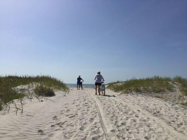 Beach bikes Jetty Park Port Canaveral Canaveral Florida Florida Beach Beach Bike