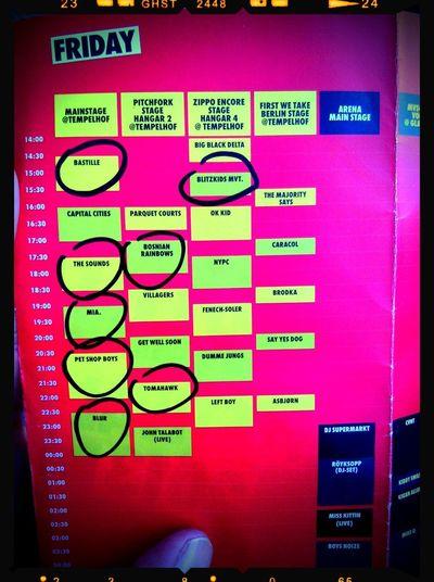 Berlin Festival 2013 Press-Pass My Schedule Leroe24fotos.com