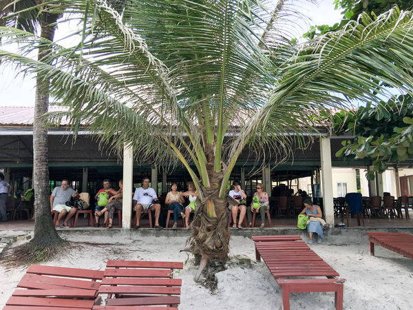 Bãi Sao, An Thói, Phu Quoc, Vietnam. Adult Adults Only An Thoi Village Architecture Building Exterior Bãi Sao Day Men Outdoors Palm Tree People Phu Quoc Real People Swimming Pool Tree Vietnam Women