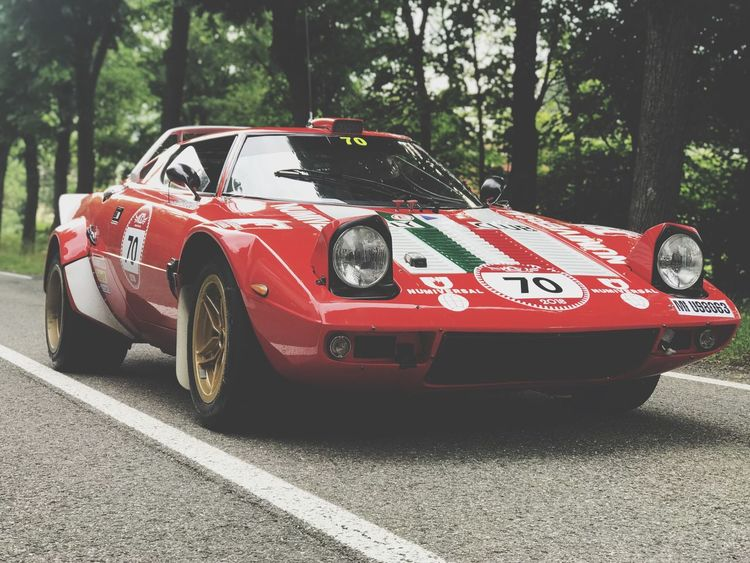 Lancia Stratos, Italy Lancia Stratos Lancia Stratos Classic Car Oldcars Modena Italy Car Red Sport