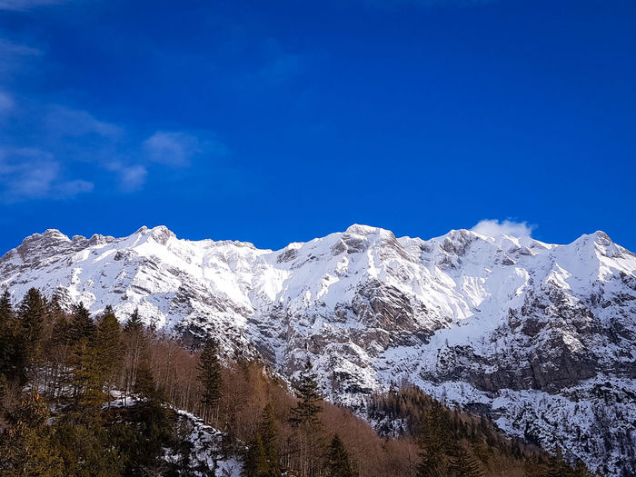 Val Zemola Trees Hiking Mountain Snow Mountain Range Snowcapped Mountain Landscape Nature Cold Temperature Winter Scenics Mountain Peak Beauty In Nature No People Outdoors Day Sky Wilderness Clear Sky Blue