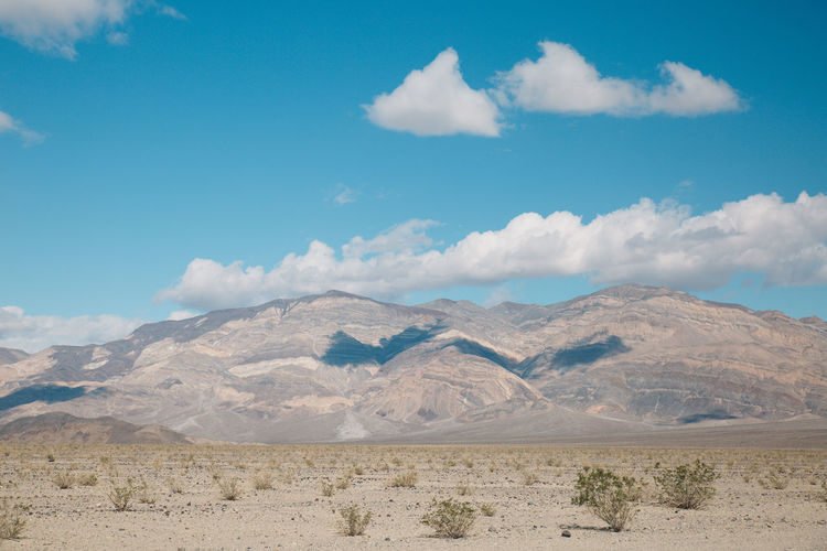 Arid Climate Arid Landscape Barren Beauty In Nature Blue Sky Cloud - Sky Day Death Valley Death Valley National Park Desert Desert Landscape Mountain Mountain Range Mountains Nature Nature No People Outdoors Physical Geography Roadtrip Scenics Sky Tranquil Scene Tranquility