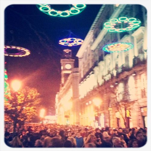 Many People In Madrid