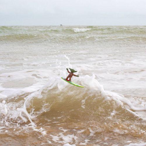 Yoda Surf Toys Wave wahooou