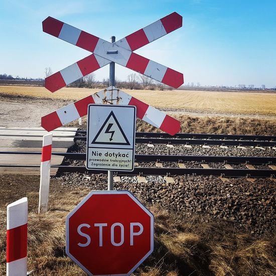 Road Sign Communication Sky