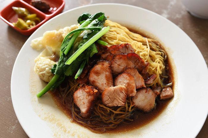 Foodporn Sgfood Hawkerfood wanton noodles Lunch