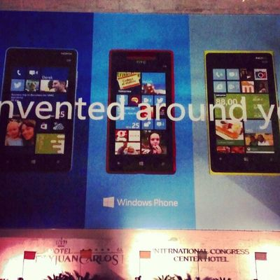 Reinvented around me? Thanks Microsoft! ;-) #MWC13 Mwc13