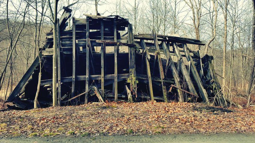 WPT WPT Bikelife Pennsylvania Trail Outdoors Bike Ride Biking Nature Abandoned Rail Trail Old Structures Abandoned Railroad Crumbling Falling Apart