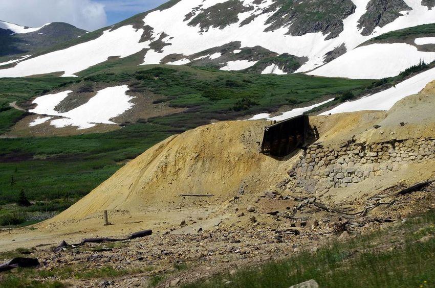 Colorado Colorado Photography Mining History Of America Mining Heritage Argentine Pass Santiago Mine Snow Landscape Mountain Scenics