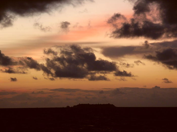 Baros Island Sky Cloud - Sky Beauty In Nature Sunset Scenics - Nature Tranquil Scene Tranquility