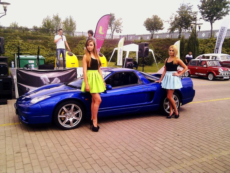 ! Moto East Chełm Honda Nsx Nice Car Beautiful Girls  Great Day 😀😀👌👌