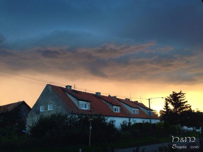 Sundown Poland Sky Willage