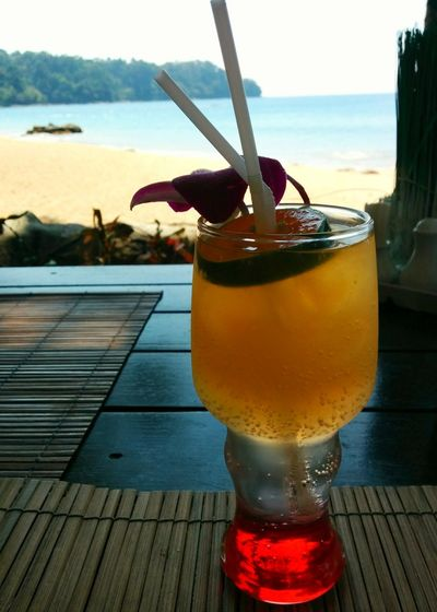 having Cocktail by Khao Lak Beach is Priceless