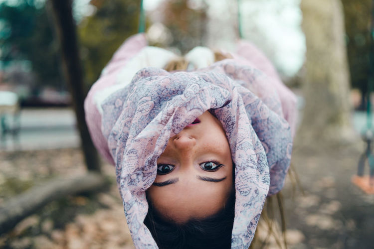 Portrait Headshot One Person Child Childhood Looking At Camera Focus On Foreground Real People Clothing Front View Lifestyles Day Cute Leisure Activity Women Innocence Close-up Warm Clothing Hood - Clothing Outdoors Human Face #NotYourCliche Love Letter The Portraitist - 2019 EyeEm Awards