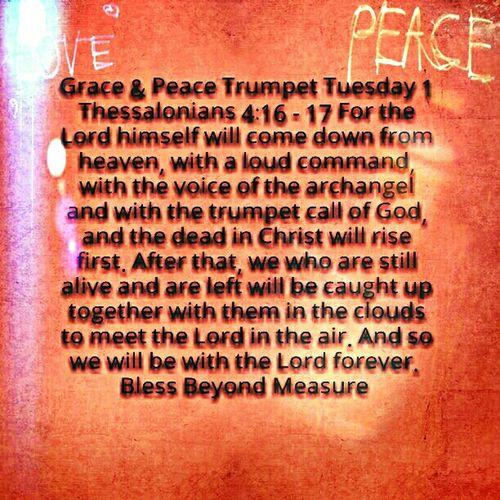 Grace & Peace Trumpet Tuesday