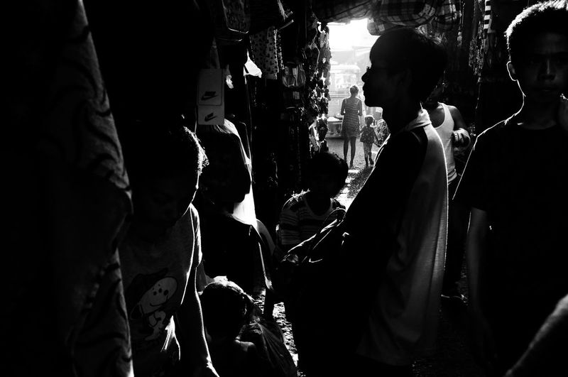 Flaneuring in Black and White Black And White Blackandwhite City Life Dark Darkness And Light Eyeem Philippines Philippines Rim Lighting Silhouette Street Street Life Street Photography Streetphoto Streetphoto_bw Streetphotography