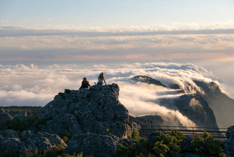 Cape Town Cloud Cloudy Mountain Mountain Range Sky South Africa Table Mountain Tourist