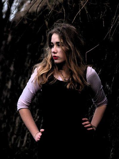 Dark Fairytale Vampire Girl Vampire Girl Photo♡ Red Lips
