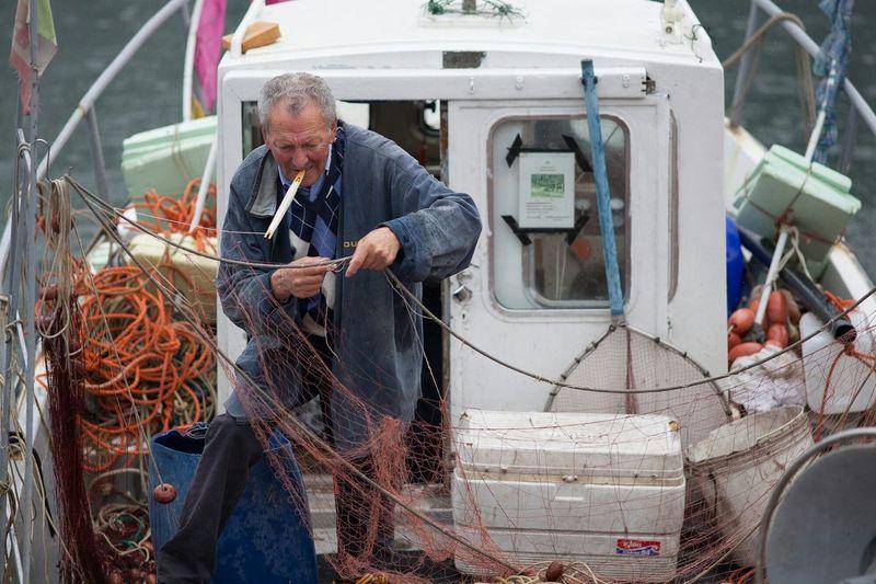 The Fisherman in the Boat / EyeEm Best Shots EyeEm Masterclass EyeEm Best Edits EyeEm Gallery EyeEm Liguria Zena4ever Fisherboat Fisher Man