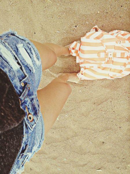 Beach Girl Summer Legs