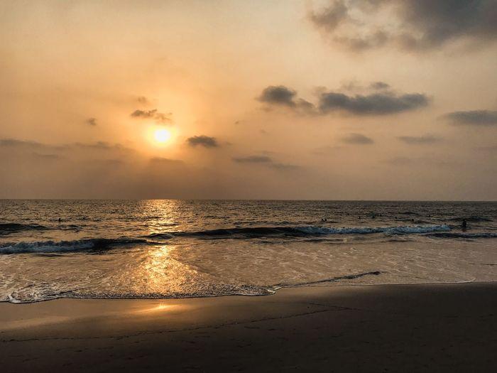 Sunset view,