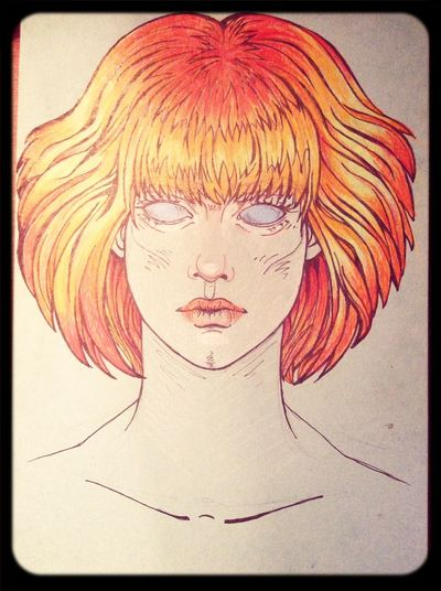 Art Drawing Red Hair Fox