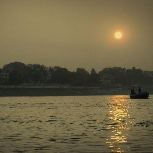 Patna ke ghat.... Eveningsun Ganges Gangaghat Patna Mns_cse07
