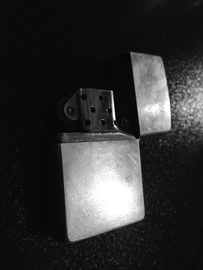 Black And White Lighter Night No People Illuminated Black Background Indoors  Electricity  Close-up