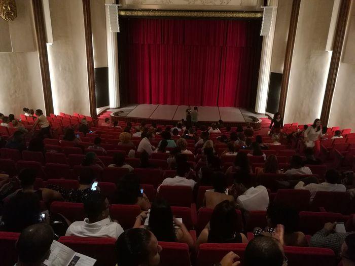 Republica Dominicana Dominican Republic Santo Domingo Palacio De Bellas Artes  EDANCO EDANCO 2018 Dance&music Festival Auditorium Curtain Red Arts Culture And Entertainment Stage - Performance Space Architecture Performing Arts Event