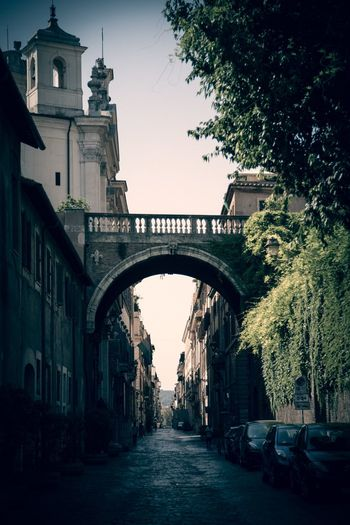 Ordinary Rome Street Architecture Built Structure Arch Building Exterior Sky Nature Building
