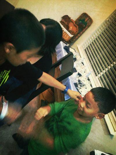 Lol kids playing pikachu