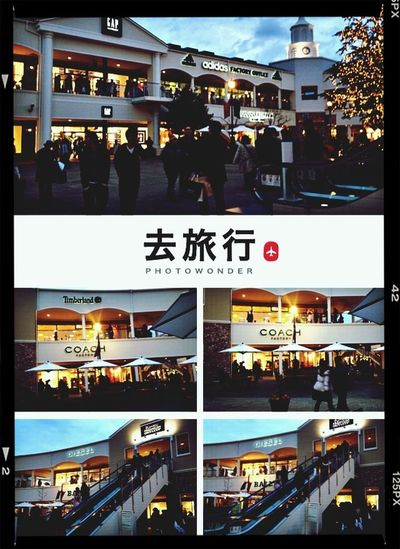Fashion outlet brand at renku town near in kansai airport....love&like....go go shopping.... Shopping Ever Since@veatrisha.me