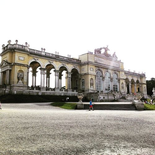 Nice view inside the place ! Vienna Austria Schönnbrunn
